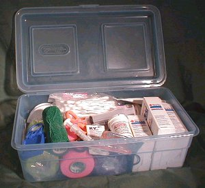 Reptile Emergency First Aid Kit
