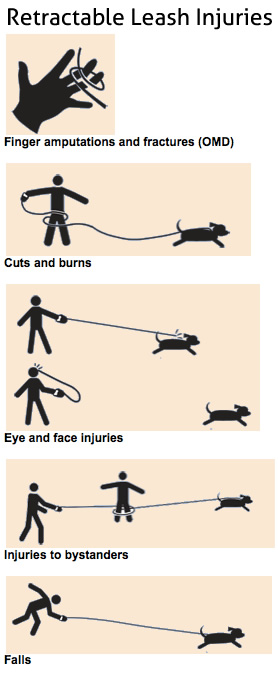 Retractable Dog Leash Injuries